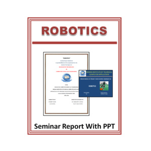 Robotics Seminar Report with PPT
