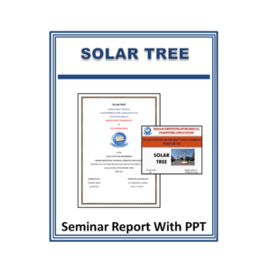SOLAR TREE Seminar Report With PPT