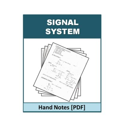 Signal System Hand Note
