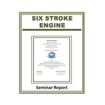 Six Stroke Engine Seminar Report