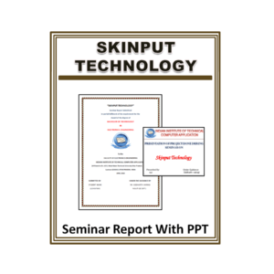 Skinput Technology Seminar Report With PPT