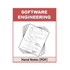 Software Engineering Free Handnote