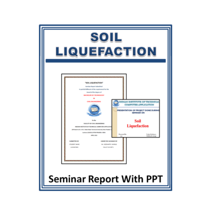 Soil Liquefaction Seminar Report with PPT