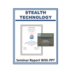 Stealth Technology Seminar Report With PPT