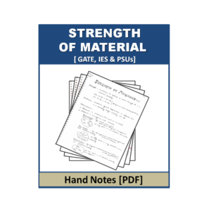 Strength of Material Handnote