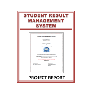 Student Result Management System Project Report