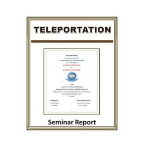 Teleportation Seminar Report