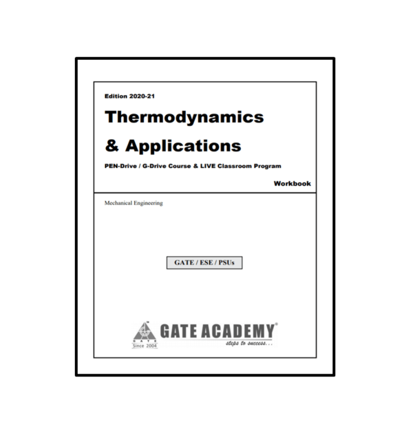 Thermodynamics & Applications Workbook First Page