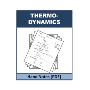 Thermodynamics Handnote