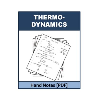 Thermodynamics Hand Note