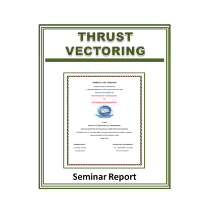 Thrust Vectoring Seminar Report
