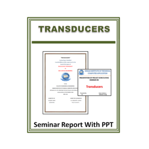 Transducers Seminar Report with PPT