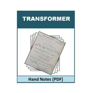 Transformer Hand Note