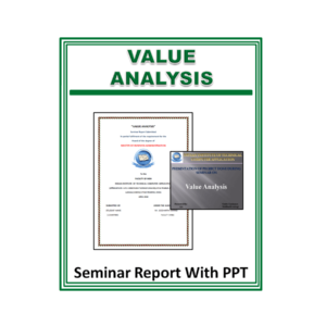 Value Analysis Seminar Report With PPT