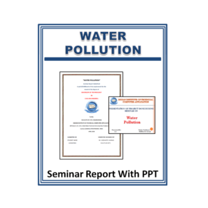 Water Pollution Seminar Report With PPT