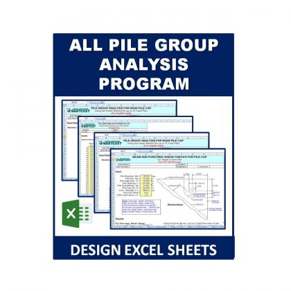 All Pile Group Analysis Program Excel Sheet