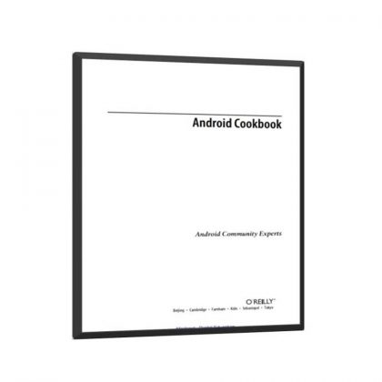 Android Cookbook Free Book