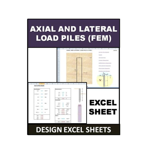 Axial and Lateral Load Piles (FEM)
