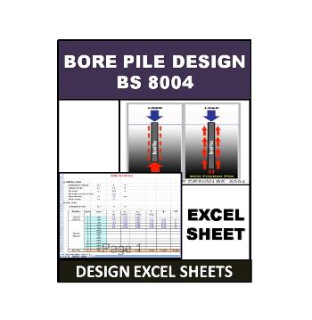 Bore Pile Design BS 8004