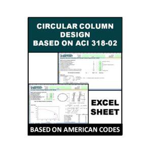 Circular Column Design Based on ACI 318-02