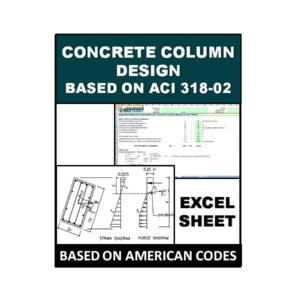 Concrete Column Design Based on ACI 318-02