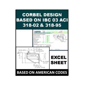 Corbel Design Based on IBC 03 ACI 318-02 and 318-95