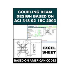 Coupling Beam Design Based on ACI 318-02 IBC 2003
