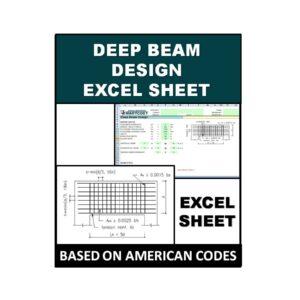 Deep Beam Design Excel Sheet
