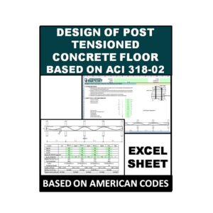 Design of Post-Tensioned Concrete Floor Based on ACI 318-02