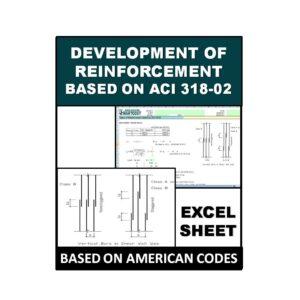Development of Reinforcement Based on ACI 318-02