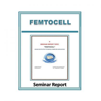 Femtocell Seminar Report
