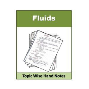 Fluids Physics Hand Note