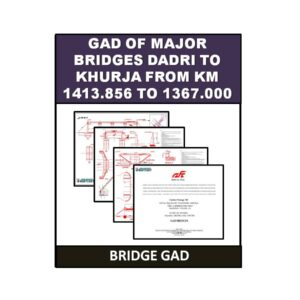 GAD of Major Bridges Dadri to Khurja 4