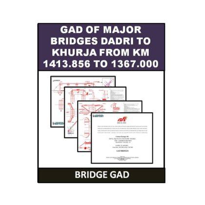 GAD of Major Bridges (Dadri to Khurja)