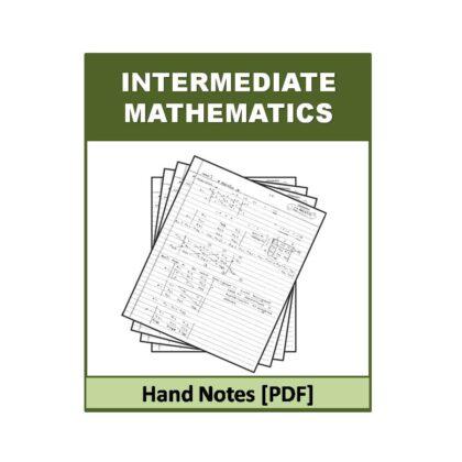 Math Hand Note