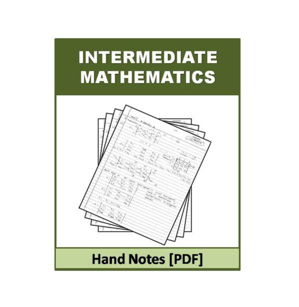Math Hand Notes