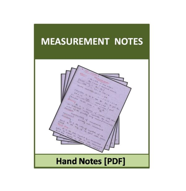 Measurements-ACE-EC Hand notes