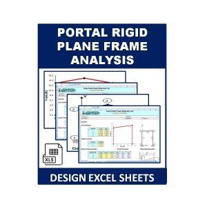 Portal Rigid Plane Frame Analysis