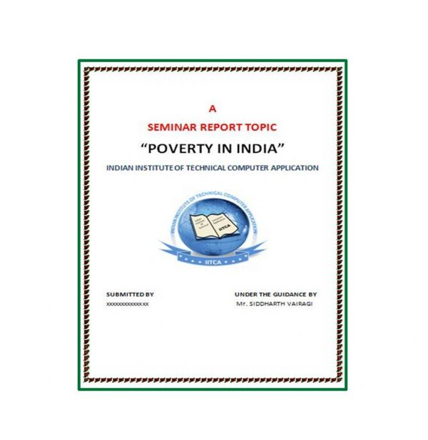 Poverty in India 1
