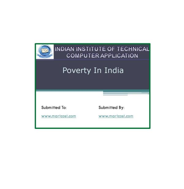 Poverty in India 3