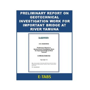 Preliminary Report on Geotechnical Investigation Work for Important Bridge at River Yamuna 1