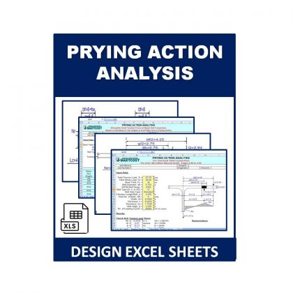 Prying Action Analysis Design Excel Sheet