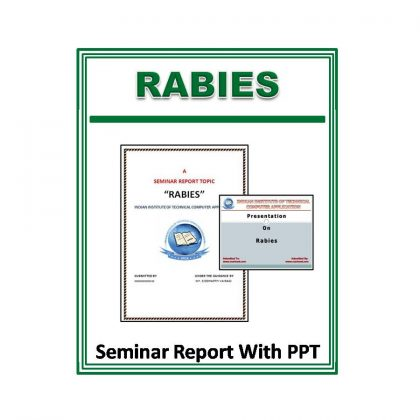 Rabies Seminar Report With PPT
