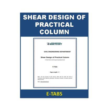 Shear Design of Practical Column