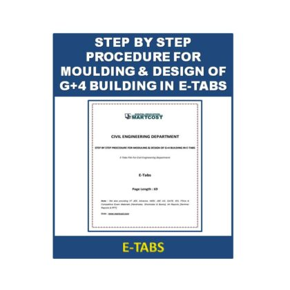 Step By Step Procedure For Modeling & Design of G+4 Building in E-Tabs