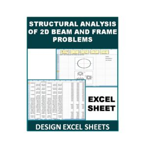 Structural analysis of 2D beam and frame problems