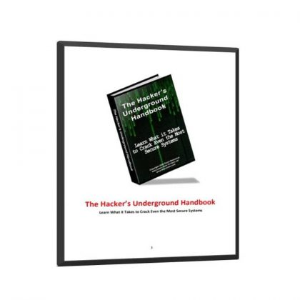 The Hackers Underground Handbook ( hack the system) Free Book