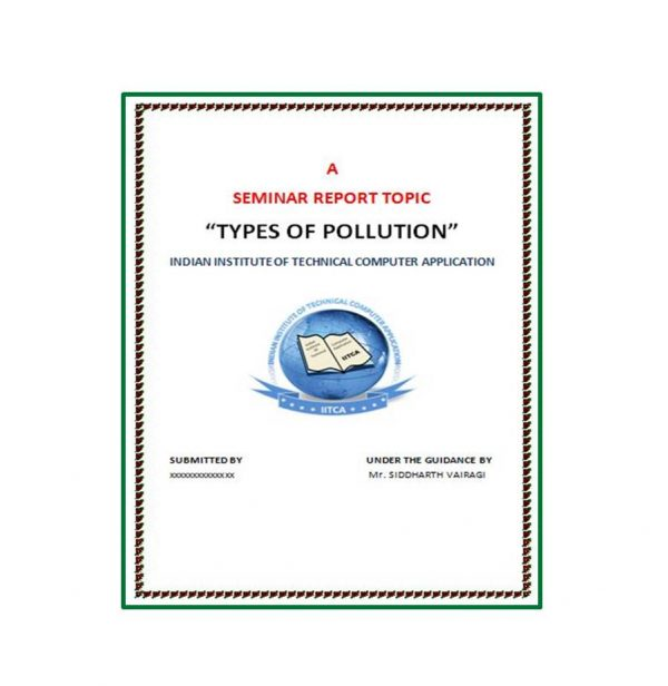 Types of Pollution 1