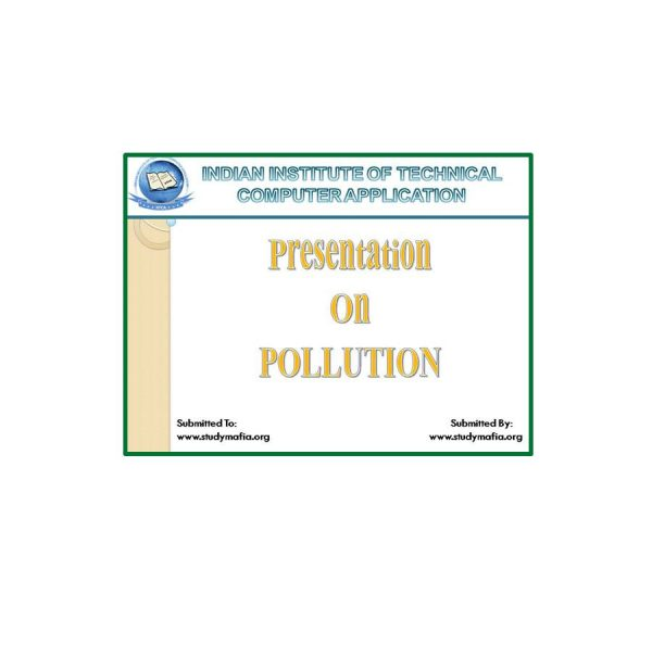 Types of Pollution 3