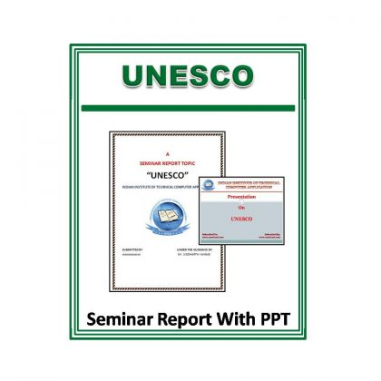 UNESCO Seminar Report With PPT